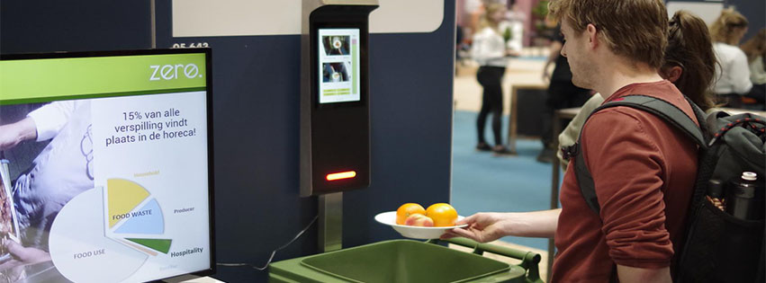 Zero FoodWaste monitor launches finished product at Horecava 2020