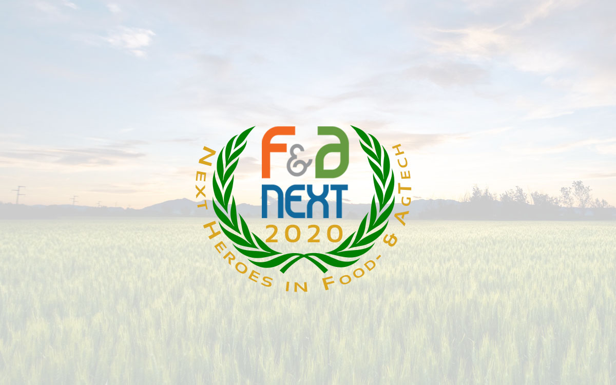 F&A Next 'Next Heroes in Food- and Agtech 2020'