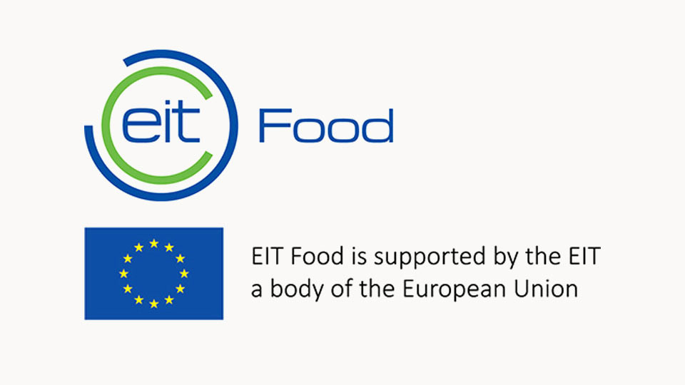 Logo EIT FOOD with EU flag