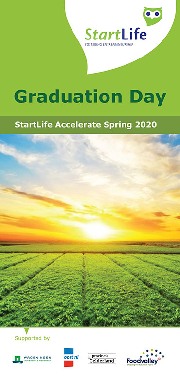StartLife Accelerate Spring 2020 Graduation Day Booklet_Frontpage