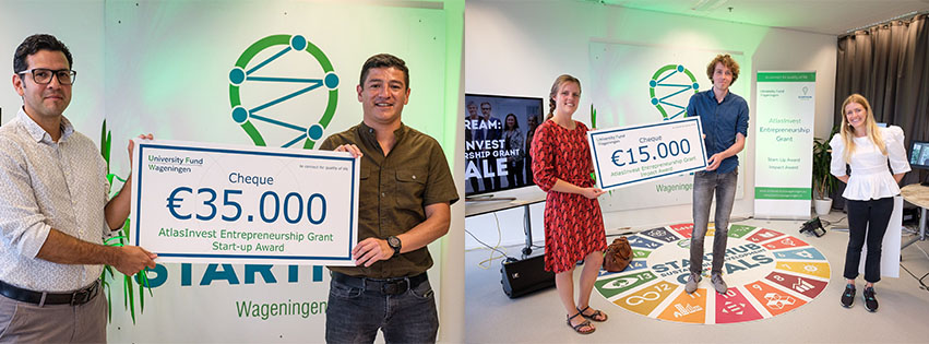 Winners AtlastInvest Entrepreneurship Grant 2020