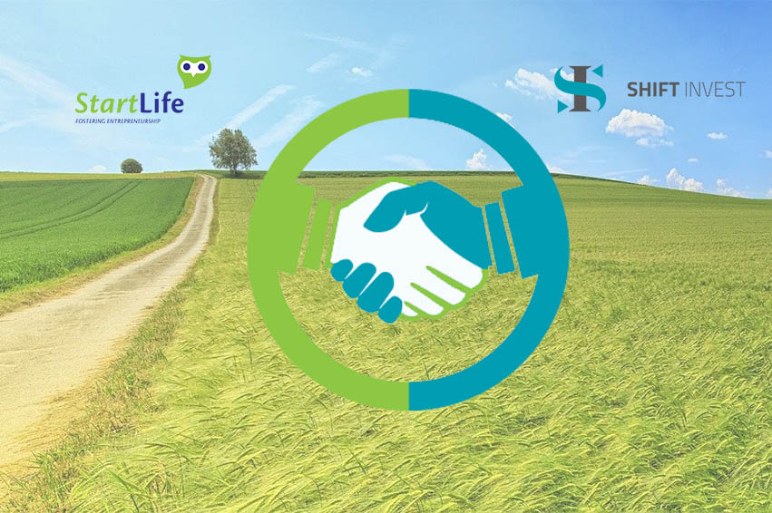 Partnership Shift Invest & StartLife
